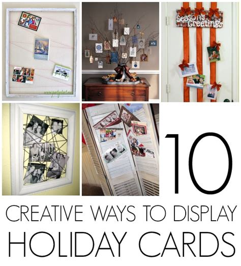 how to display cards organize christmas cards c r a f t