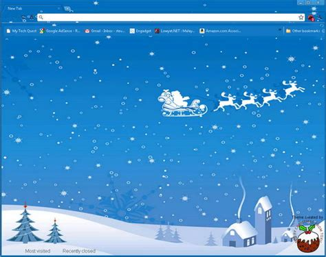 Themes For Google Chrome Christmas | 5 interesting christmas themes for google chrome