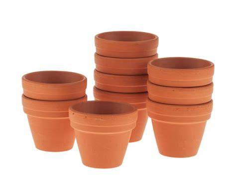 vasi terracotta on line vasetti di terracotta 30x35 mm 10 pezzi opitec