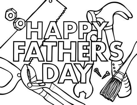 happy fathers day 2 coloring page 171 crafting the word of god