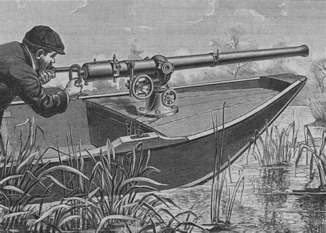 small boat used by wildfowlers check out these 10 amazing facts about the largest shotgun