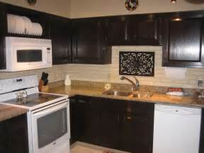 can you stain kitchen cabinets darker kitchen attractive l shape kitchen decoration using dark brown staining oak wood kitchen