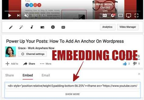 wordpress tutorial embed video video tutorial how to schedule embed a private youtube
