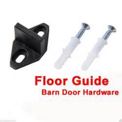 Barn Door Guides Sliding Barn Door Hardware Door Bottom Ground Floor Guide Plastic With Screws Ebay