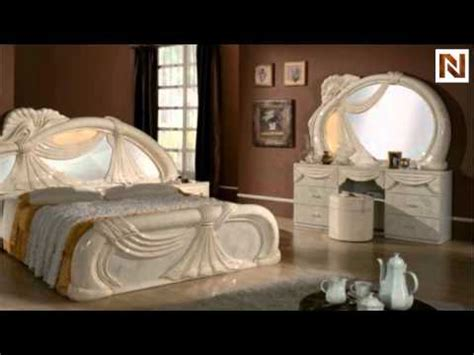 gina   italy white  pieces bedroom set vgaccgina beige  vig furniture youtube