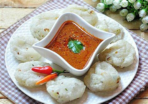 resep cireng cocol sambel kacang oleh hanhanny cookpad