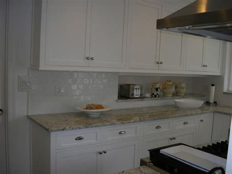 handmade subway tile kitchen backsplash traditional