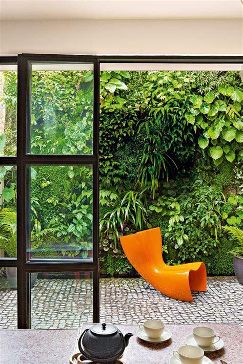 Vertical Garden Home Green Living Wall In Backyard