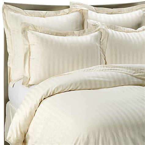 ivory comforter queen buy wamsutta 174 500 damask stripe full queen duvet cover set
