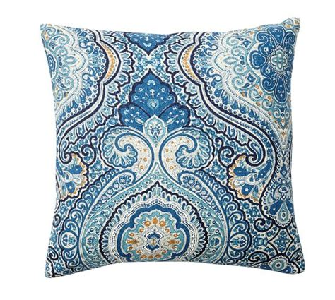 beales rugs beale paisley reversible pillow cover pottery barn