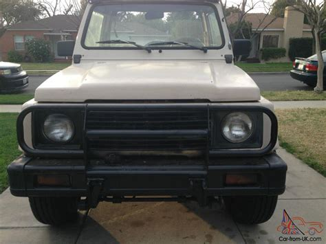 Suzuki Samurai Air Conditioning 1987 Suzuki Samurai Jx Air Conditioning 4x4