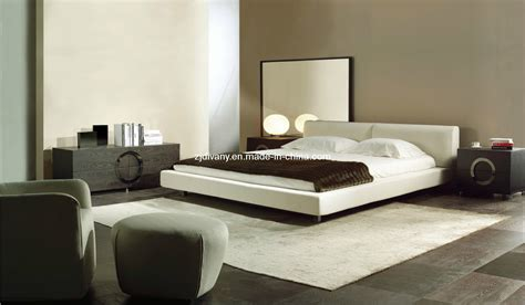 china modern italian style bed set bedroom furniture