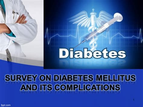 Diabetes Mellitus Their Complications Diabetes Powerpoint Template