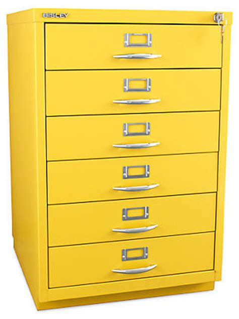 bisley 6 drawer classic front filing cabinet