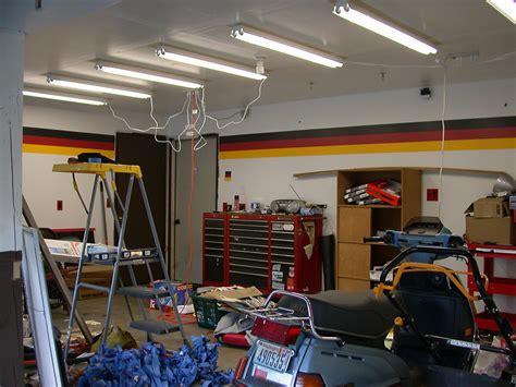 adding lights to garage fluorescent garage lighting lighting ideas