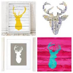 home decor stag heads everywhere lets talk