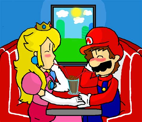 mario and peach in bed mario and peach doing it bing images