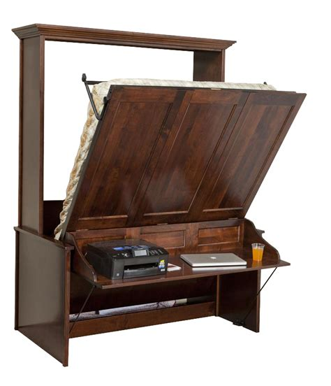 murphy bed and desk murphy wall bed and desk amish murphy desk bed from