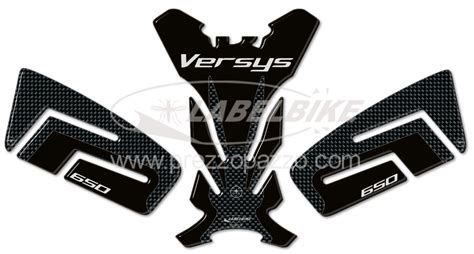 Kawasaki Versys Sticker by Sticker Kit Resin Gel 3d Protections Compatible Motorcycle