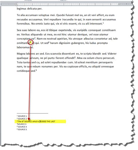 how to format a footnote in word 2010 how to add numbered footnotes easily to a ms word 2010