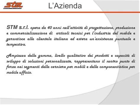 esempi di lettere di presentazione aziendale presentazione aziendale stm