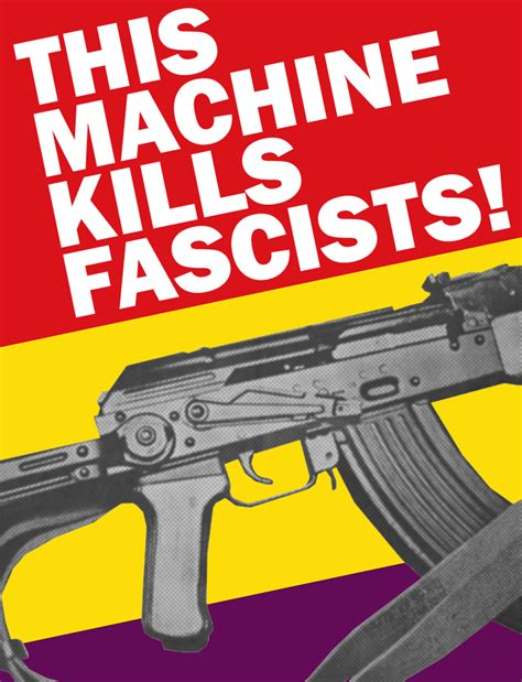 anti flag this machine kills fascists anti fascist machine by party9999999 on deviantart