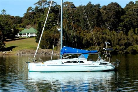 trimaran ian farrier used farrier f 36 trimaran for sale yachts for sale