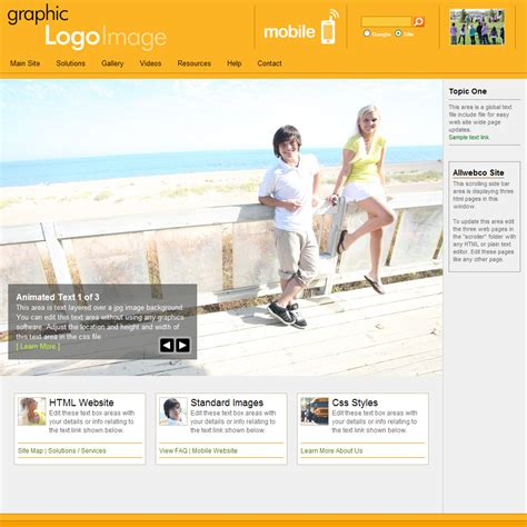 website templates for yellow pages web templates with mobile version youthscape yellow