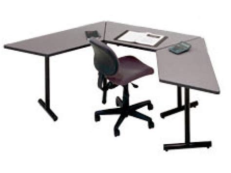 Trapezoid Desk by Computer Desks Computer Tables Computer Carts Hertz
