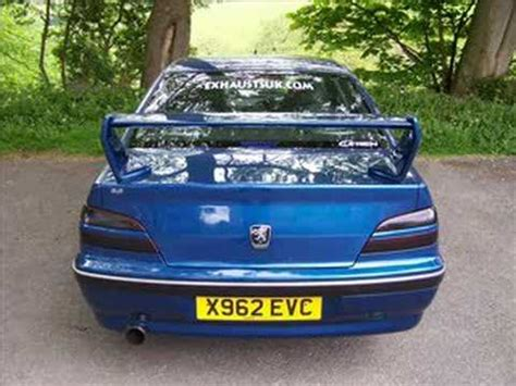 peugeot 406 sport peugeot 406 2 2 sri 16v sports exhaust youtube