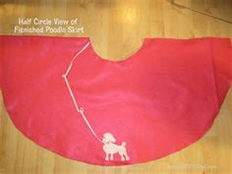 diy poodle skirt great costume want need