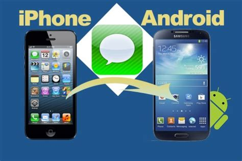 iphone message layout for android how to move iphone messages sms to android mobile