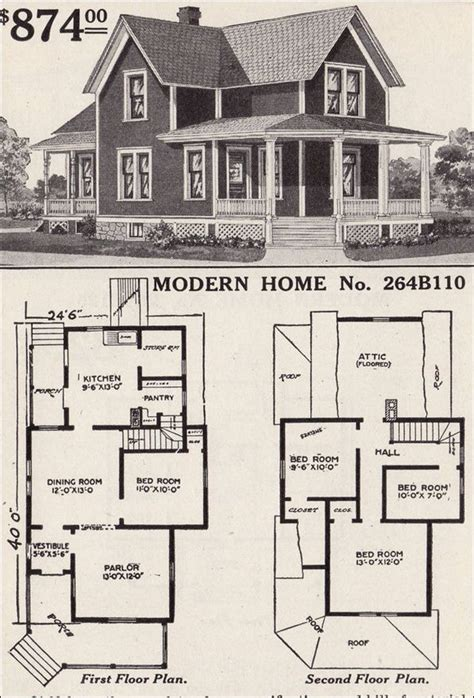 the woodland by sears modern homes 1923 foursquare kit 29 best american foursquare houseplans images on pinterest