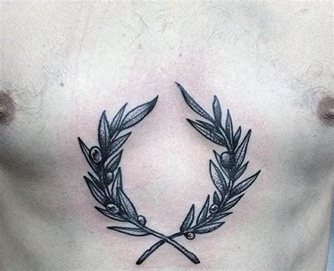 70 olive branch tattoo designs for men ornamental ink ideas