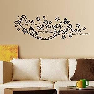 Wallsticker Black L Garden Jm717 buy decals design live laugh and family wall
