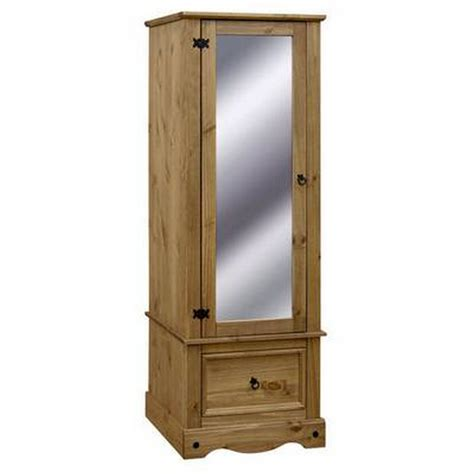 mirrored door armoire corona armoire with mirrored door