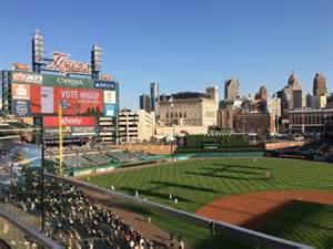 comerica park sections comerica park section 331 home of detroit tigers