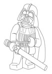 lego star wars coloring pages colouring goodness 228 rben super und darth vader