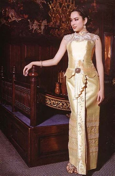 Premium Dress Bangkok Caesar Dress 38 best images about traditional thai costumes on traditional bangkok thailand and