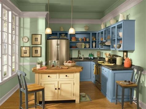 customize your kitchen with a painted island hgtv 12 easy ways to update kitchen cabinets hgtv