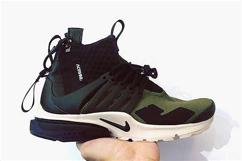 Sepatu Nike Air Presto Acronym Black Premium Quality Murah nike air presto acronym olive cliftonrestaurant co uk