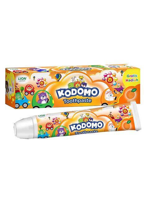 Pasta Gigi Kodomo kodomo pasta gigi anak anak orange tub 45g klikindomaret
