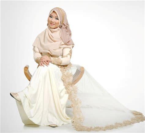 Jilbab Syar I Untuk Pernikahan 21 model gaun pengantin muslimah syar i dan elegan terbaru