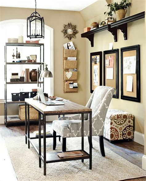 15 great home office ideas like the style of this room