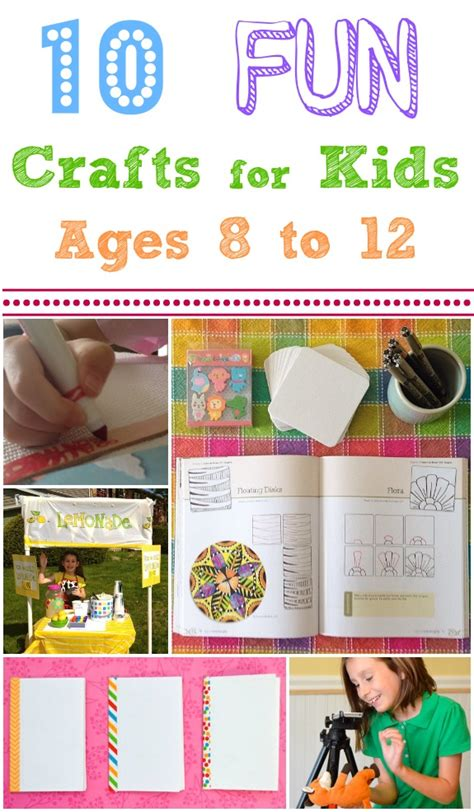 crafts for ages 8 12 crafts and activities for ages 8 12 inner child
