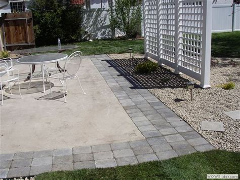 Extend Patio With Pavers 138 Best Images About Our Yard On Pinterest Nautical Rope Drop Cloth Curtains And Chaise