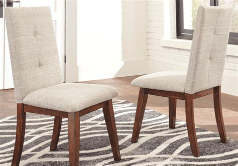 centiar dining room centiar 2 white upholstered dining chairs lexington