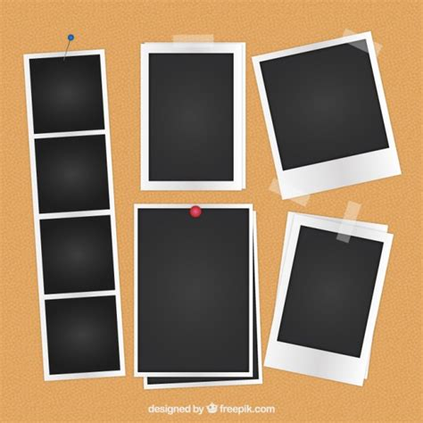 Polaroid Photo Template Vectors Photos And Psd Files Free Download Photo Template Free