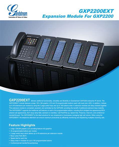 Grandstream Gxp2200ext Ext Module Untuk Gxp2200 grandstream gxp2200ext 20 key expansion module for gxp2140