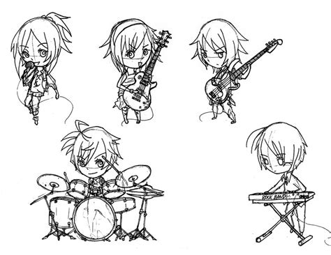 Chibi MCS Revised Rock Band   Draft by rhombus528 on